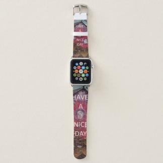 Nette spezielle Grüße gerade für Ihr Apple Watch Armband