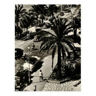 Nette Strand-Replikpostkarte 1950 Postkarte