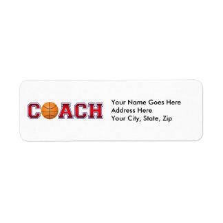 Nette Trainer-Basketball-Insignien