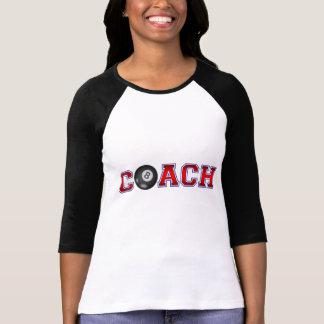 Nette Trainer-Billard-Insignien T-Shirt