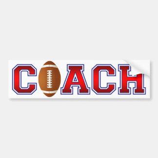 Nette Trainer-Fußball-Insignien Autoaufkleber