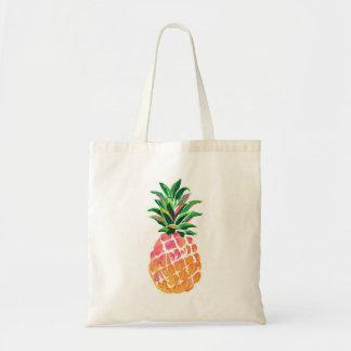Nette tropische hawaiische Ananas Tragetasche