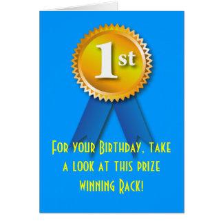 Nette Überraschung des Gestell-Geburtstags-2 Karten