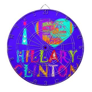 Nette und reizende fantastische Hoffnung Hillary Dartscheibe
