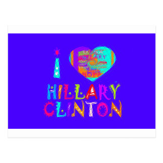 Nette und reizende fantastische Hoffnung Hillary Postkarte