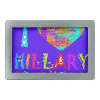 Nette und reizende fantastische Hoffnung Hillary Rechteckige Gürtelschnallen