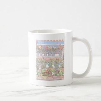 Netter Frankreich-Bauers-Markt Kaffeetasse