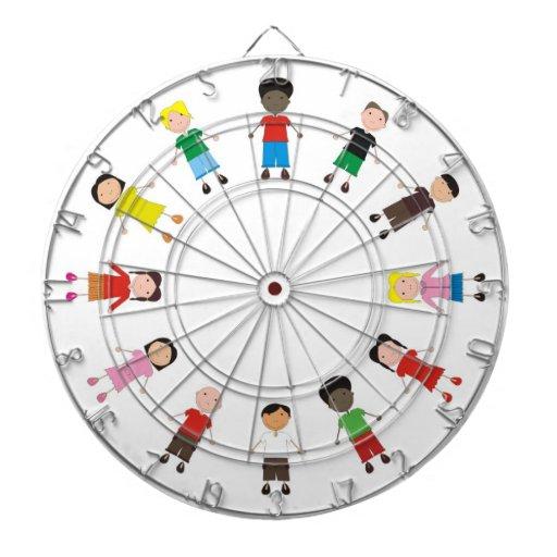 Netter/Kinder/Niños Dart-scheibe