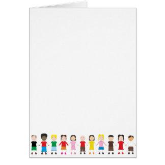 Netter/Kinder/Niños Grußkarten