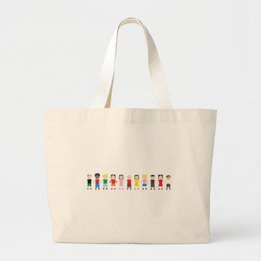 Netter/Kinder/Niños Leinentaschen