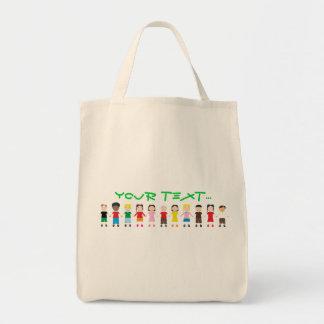 Netter Kinder Niños Einkaufstasche