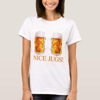 Netter Krug-Bier-Glas-T - Shirt