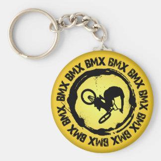 Nettes BMX Siegel Schlüsselanhänger