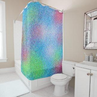 Nettes buntes abstraktes Muster Duschvorhang