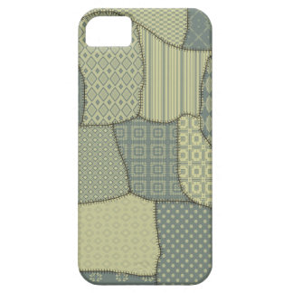 Nettes buntes niedliches Patchwork iPhone 5 Case
