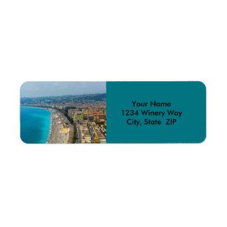 Nettes Frankreich gelegen im französischen Riviera