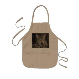 Nettes Miezekatze-Katzen-Denken Kinderschürze