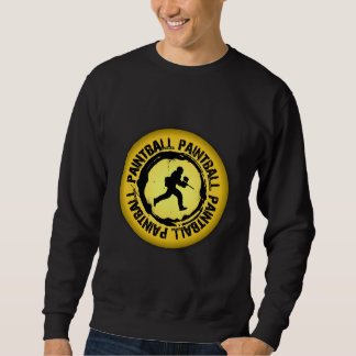 Nettes Paintball-Siegel Sweatshirt