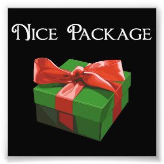 Nettes Paket-Weihnachtsgeschenk Kunstphotos