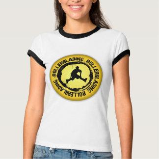 Nettes Rollerblading Siegel T-Shirt