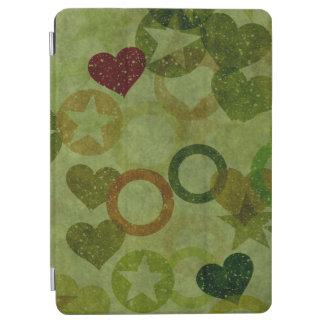 nettes schönes Herz formt abstrakten Entwurf iPad Air Cover