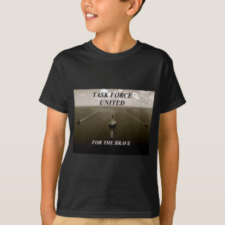 nettes Schwarzweiss-Bild des Kriegsschiffssegelns T-Shirt