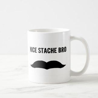 Nettes Stache Bro Kaffeetasse