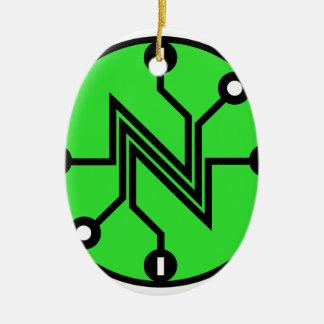 Nettoneutralität Keramik Ornament