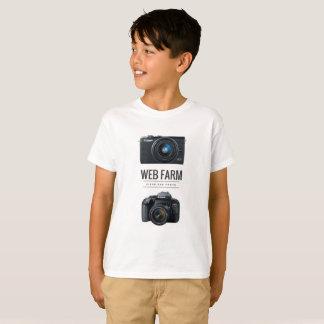 Netz-Bauernhof-Shirt T-Shirt