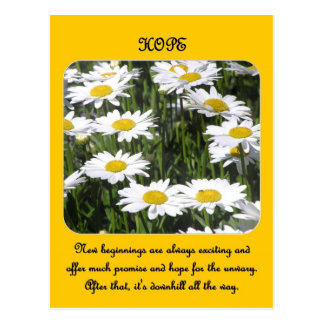 neu-Anfang-sein-immer-aufregend-und-Angebot-viel Postkarte
