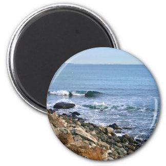 Neu-England Brandung Runder Magnet 5,1 Cm