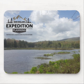 Neu-England Expeditions-Planungs-Material Mousepad