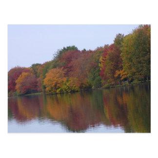 Neu-England Fall Postkarte