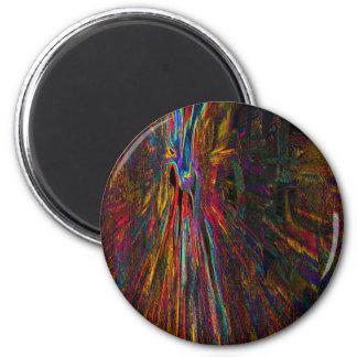 Neu erstellte Begeisterung 4 durch Robert S. Lee Runder Magnet 5,7 Cm