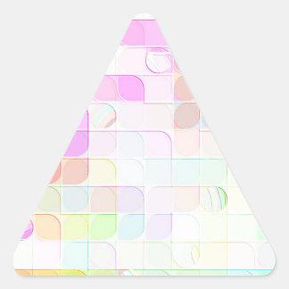 Neu erstellte Ziffer durch Robert S. Lee Dreieckiger Aufkleber