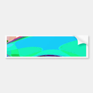 Neu erstellter Erzengel-Flügel durch Robert S. Lee Autoaufkleber
