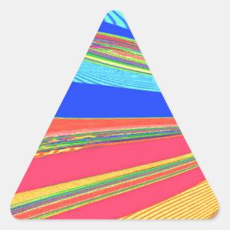 Neu erstellter Erzengel-Flügel durch Robert S. Lee Dreieckiger Aufkleber