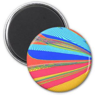 Neu erstellter Erzengel-Flügel durch Robert S. Lee Runder Magnet 5,1 Cm