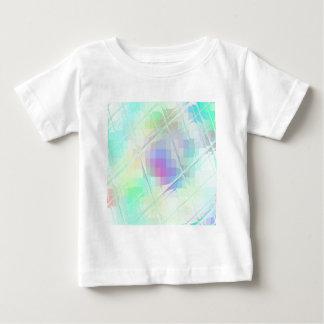 Neu erstelltes verdrehtes QUADRAT Baby T-shirt