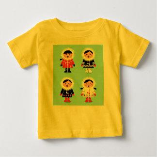 NEU IM GESCHÄFT: Kindergelber T - Shirt mit