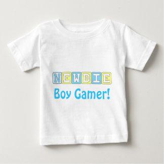 Neu-Jungegamer-Säuglings-T - Shirt