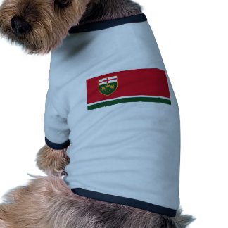 Neu-Ontario Antragflagge Hunde Shirts