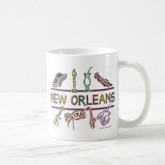 Neu-Orleans-IKONEN Kopie Kaffeetasse