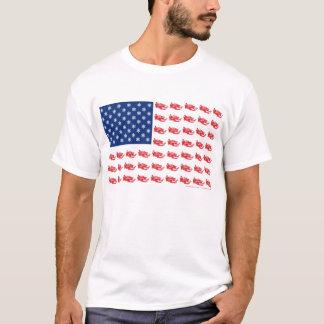 Neu-SCHLITTEn-Flagge-von-Schlitten T-Shirt