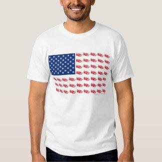Neu-SCHLITTEn-Flagge-von-Schlitten Tshirt