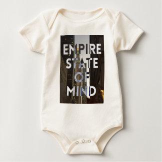 Neu-York-Stadt-Reich-StaatVon mind Baby Strampler