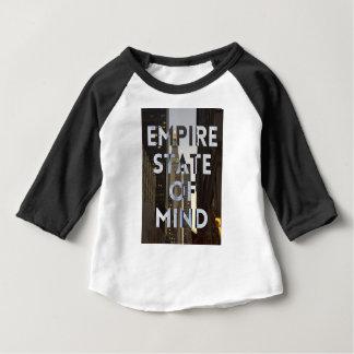 Neu-York-Stadt-Reich-StaatVon mind Baby T-shirt