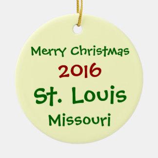 NEUE 2016 KUNDENGERECHTE ST. LOUIS KERAMIK ORNAMENT