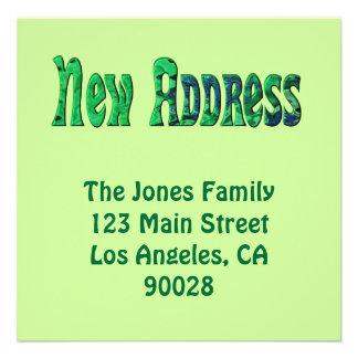 Neue Adresse Einladungskarte