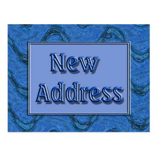 Neue Adresse Postkarten